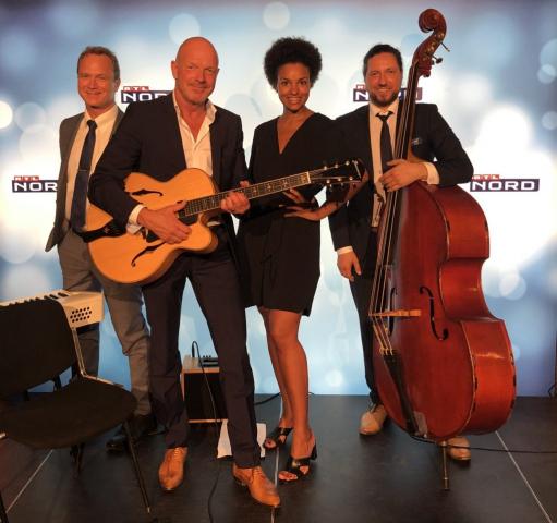Knut Richter Quartett mit Ahereen Adam